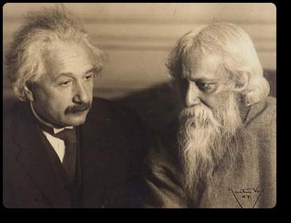 アインシュタインとタゴール